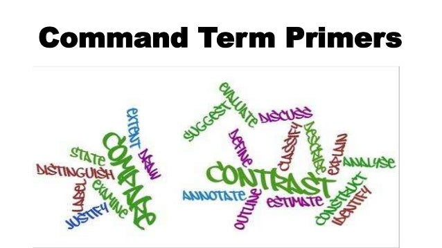 Command Term Primers
