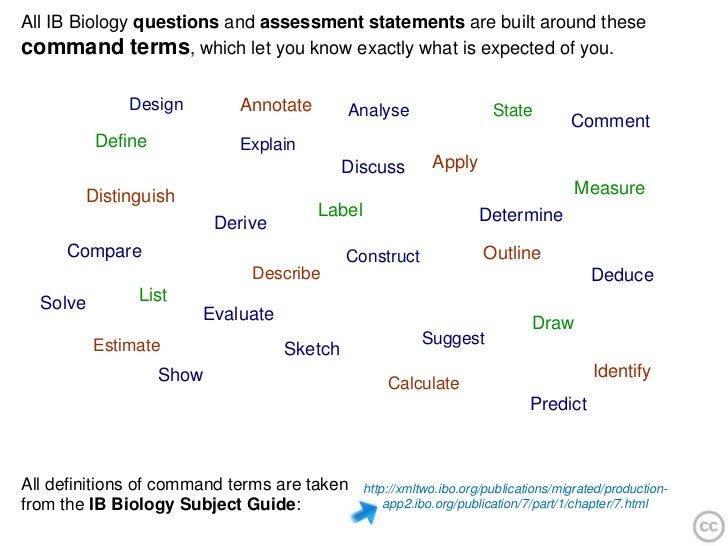 biology vocabulary and assessment essay In addition to the ap biology practice tests and ap biology  the questions in this section are largely essay  problems & flashcards classroom assessment tools.