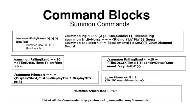 Command Your World with Command Blocks and Redstone