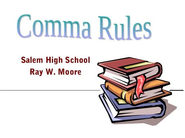 Salem High School Ray W. Moore