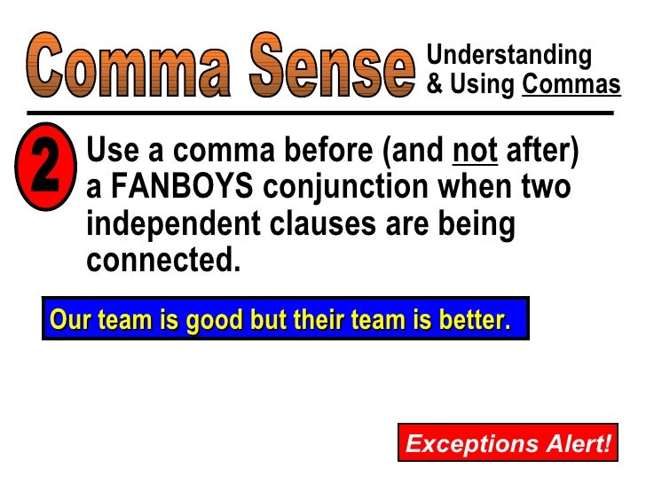 comma and yet or perhaps yet comma