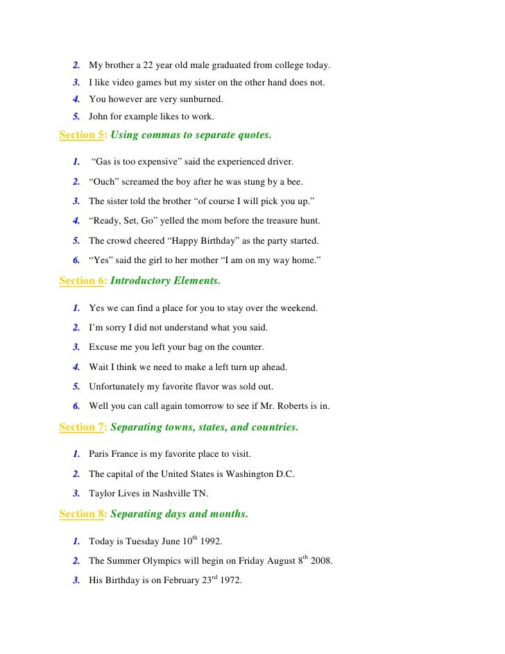 to School Comma Craze: Stories and Printables for Comma Practice