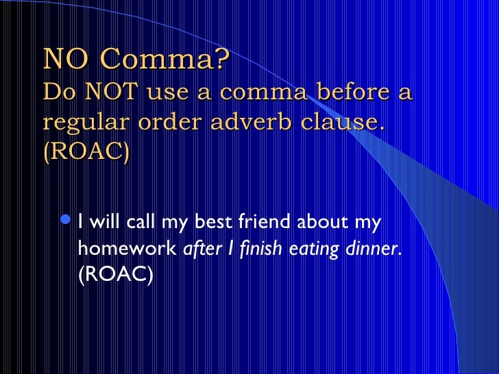"""the use of commas before and after interrupters The part following the comma is the independent clause that makes up  the  interrupter that was used before, """"on the other hand"""", does not."""
