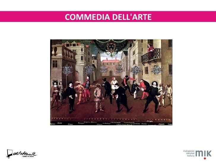 Commedia dell'arte - prezenatacja