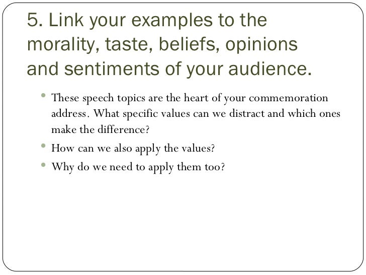 Commemorative Speech Template – Figure of Speech Example Template