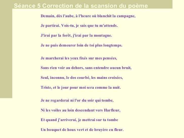 Comment Apprendre A Reciter Un Poeme Ppt