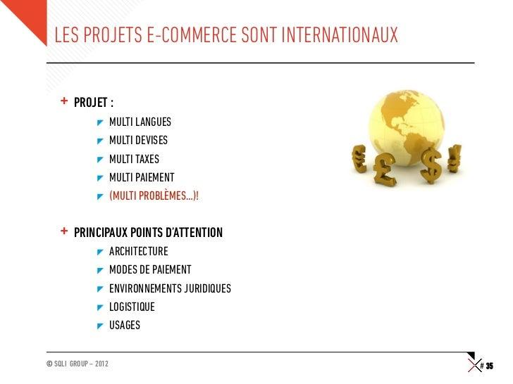 """LES PROJETS E-COMMERCE SONT INTERNATIONAUX    + PROJET :               """"     MULTI LANGUES               """"     MULTI DE..."""