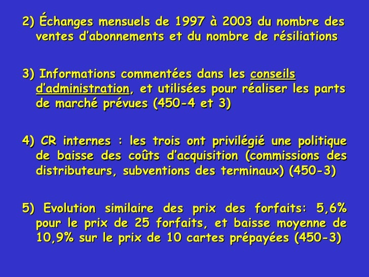 Commentaires De M Andr Marie Chef Du Bureau Des Pratiques Anti Con