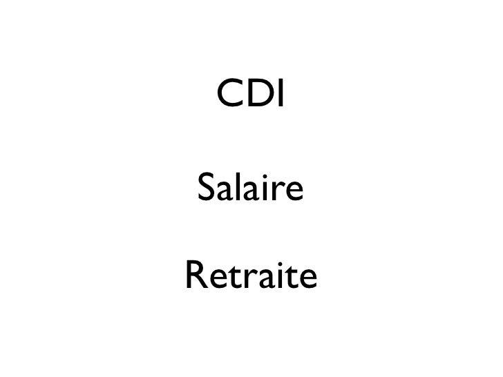 CDISalaireRetraite