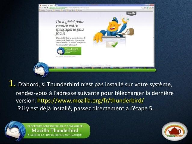 Comment configurer un courriel de server en 2 min avec thunderbird -  oolong media  Slide 2