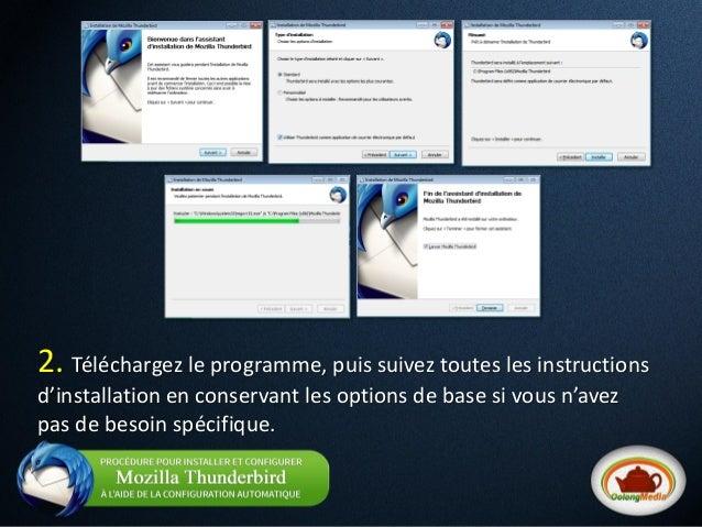 Comment configurer un courriel de server en 2 min avec thunderbird -  oolong media  Slide 3