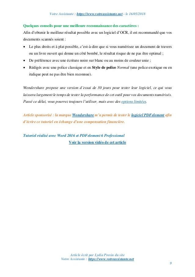 comment convertir un document word en pdf