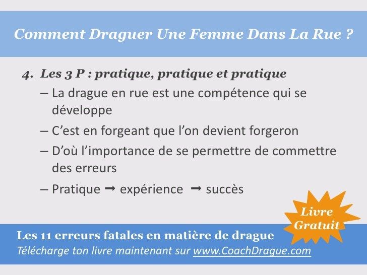 comment draguer une fille pdf free download