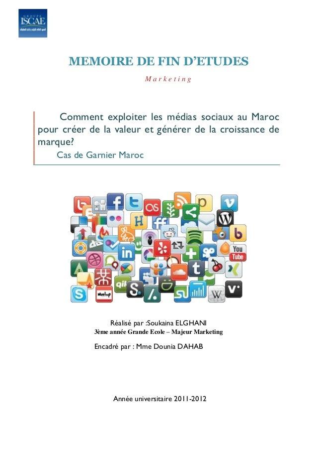 Comment exploiter les médias sociaux au maroc pour créer de la valeur et générer de la croissance de