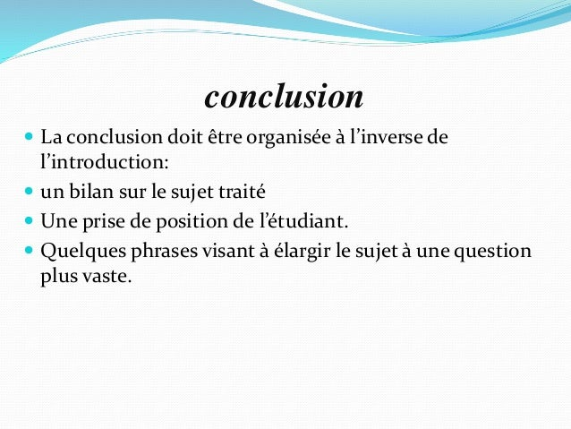 Comment faire un plan dtaill de dissertation