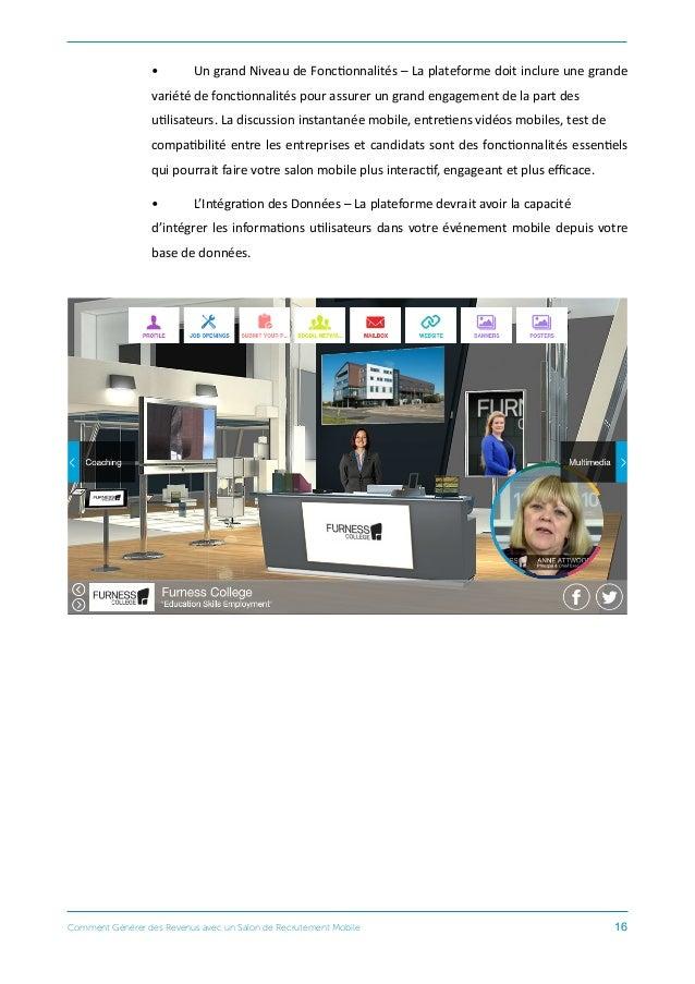 comment g n rer des revenus avec un salon de recrutement mobile. Black Bedroom Furniture Sets. Home Design Ideas