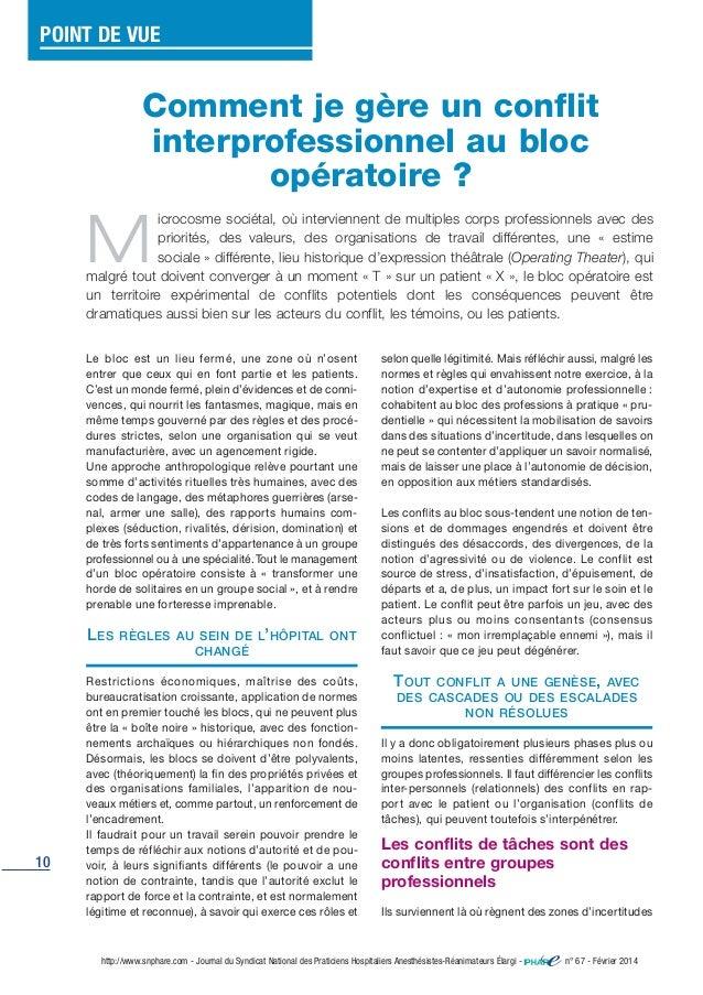 10 http://www.snphare.com - Journal du Syndicat National des Praticiens Hospitaliers Anesthésistes-Réanimateurs Élargi - n...