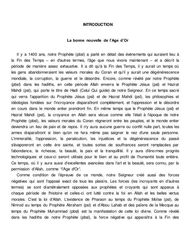 Comment le dajjal est il mort. french. français docx Slide 3