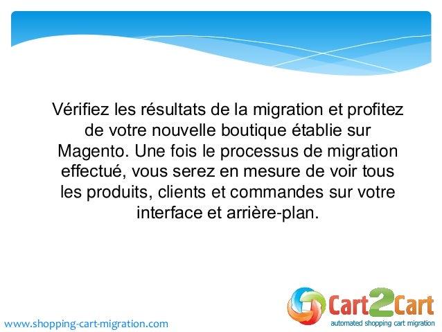 Comment migrer d opencart magento cart2cart - Comment mettre une photo en arriere plan sur open office ...