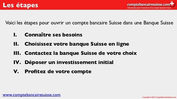 Compte Bancaire Suisse Dans Une Banque Suisseptebancairesuisse 3