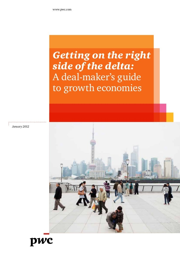 www.pwc.com               Getting on the right               side of the delta:               A deal-maker's guide        ...