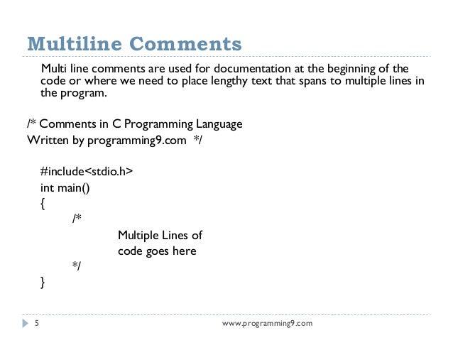 نتيجة بحث الصور عن multi comments in programming