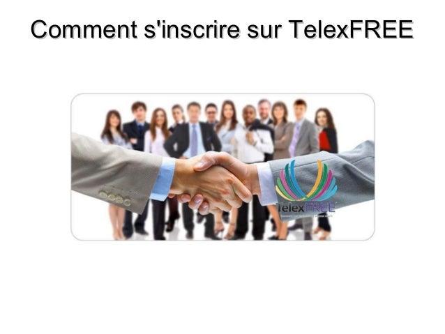 Comment s'inscrire sur TelexFREE