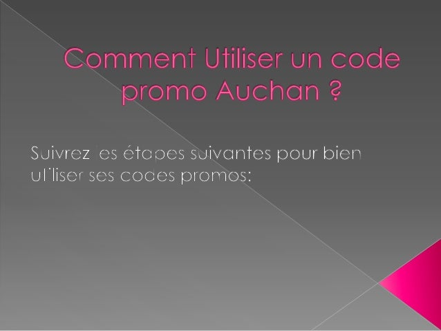 Comment utiliser un Code Promo Auchan Direct