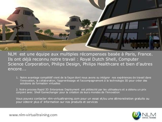 NLM est une équipe aux multiples récompenses basée à Paris, France.Ils ont déjà reconnu notre travail : Royal Dutch Shell,...