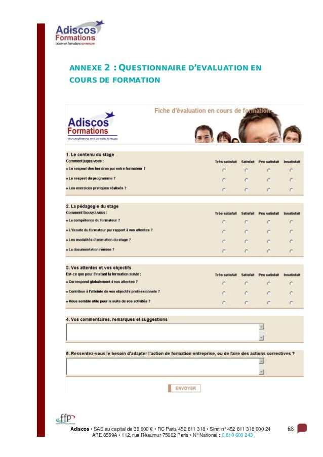 Adiscos • SAS au capital de 39 900 € • RC Paris 452 811 318 • Siret n° 452 811 318 000 24 6/8 APE 8559A • 112, rue Réaumur...
