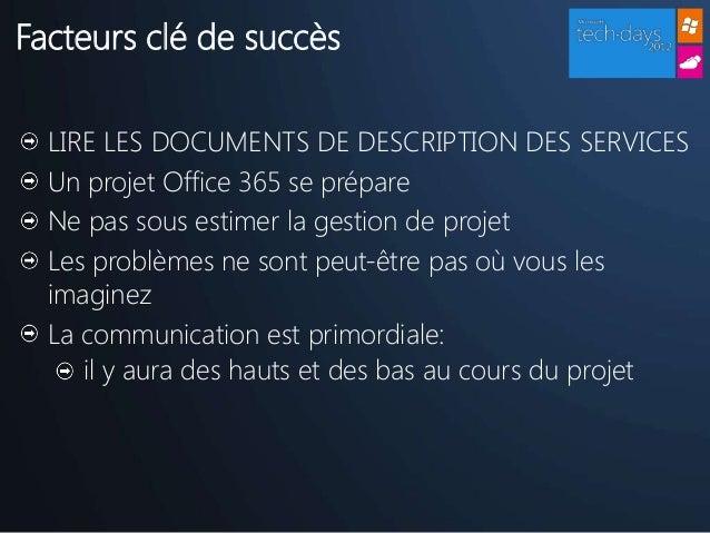 Comment vous pr parer un projet cloud office 365 - Comment chiffrer un projet ...