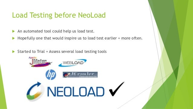 Load Testing using Continuous Integration tools