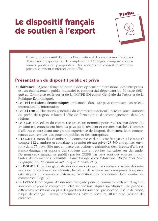 Commerce international for Compagnie francaise d assurance pour le commerce exterieur