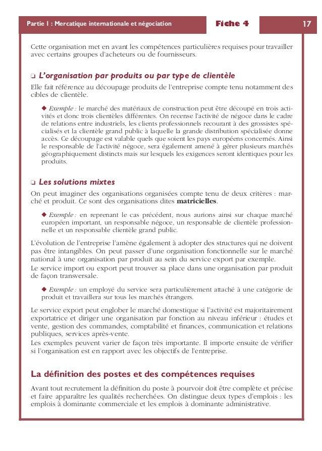 Exemple De Fiche De Poste Commercial Terrain - Le Meilleur ...