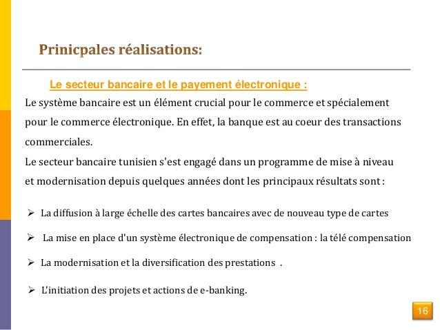 Commerce lectronique en tunisie - Grille de salaire secteur bancaire tunisie ...