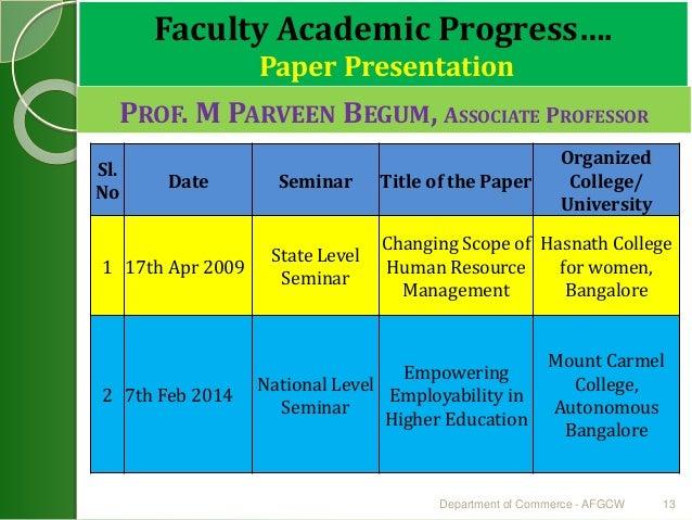 academic ppt presentation