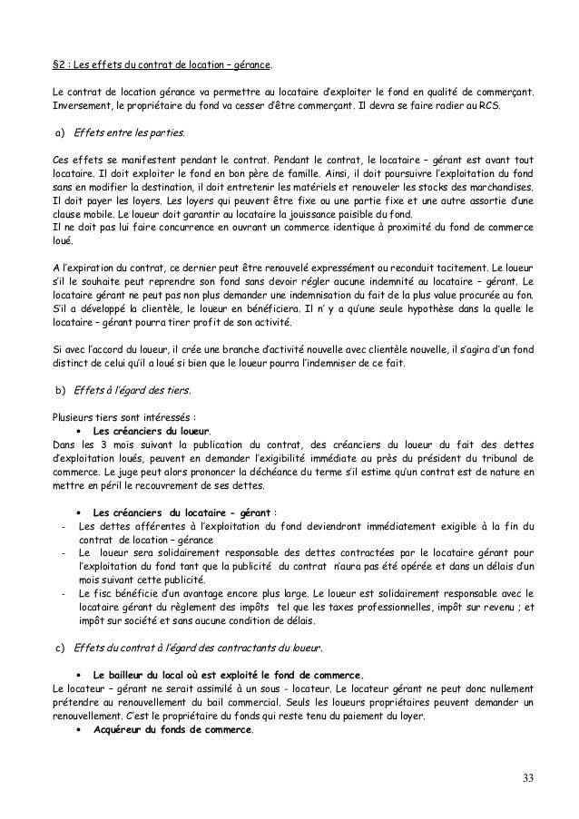 Modele Resiliation Contrat De Location Gerance Document