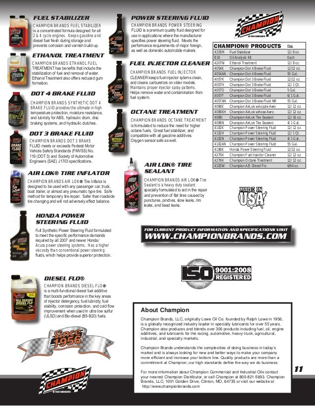 Champion Commercial & Industrial Catalog