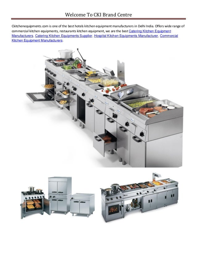 Commercial kitchen-equipment