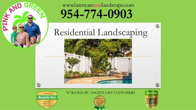... CUSTOMERS Residential Landscaping; 4. - Landscaping Company In Miami, FL - Design And Installation