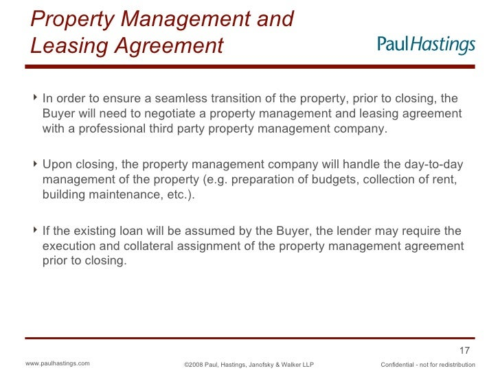 Etonnant Property Management And Leasing Agreement ...