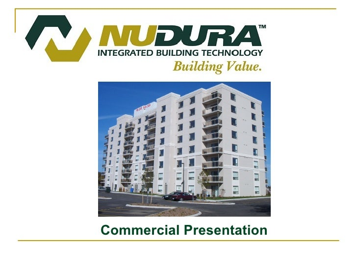 Commercial Presentation