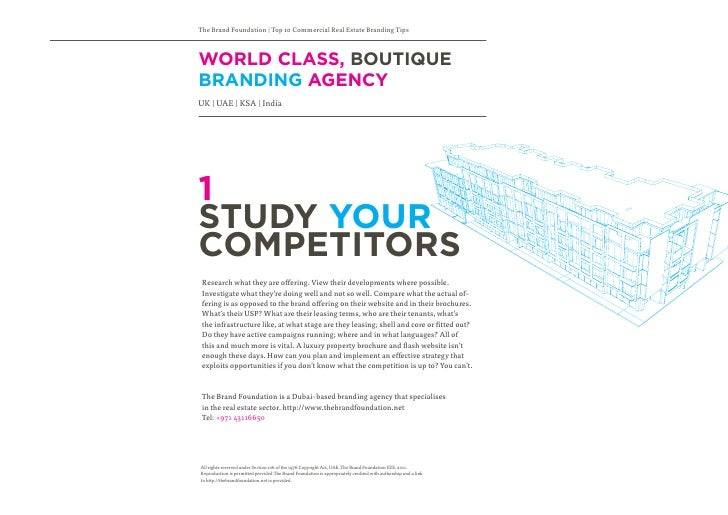 Commercial Property Branding : Commercial real estate branding tips