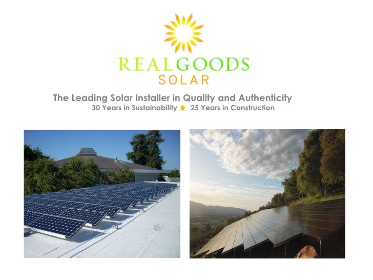 The Leading Solar Installer in Quality and Authenticity<br />30 Years in Sustainability 25 Years in Construction<br />