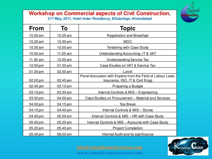 Commercial Aspects Of Civil Construction