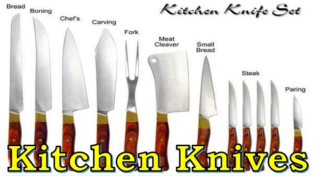 Commercial Kitchen Knives | Commercial Cooking Complete Instructional Material By Mary Krystle
