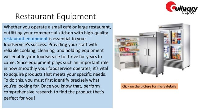 Food Beverage Commercial Kitchen Equipment Restaurants