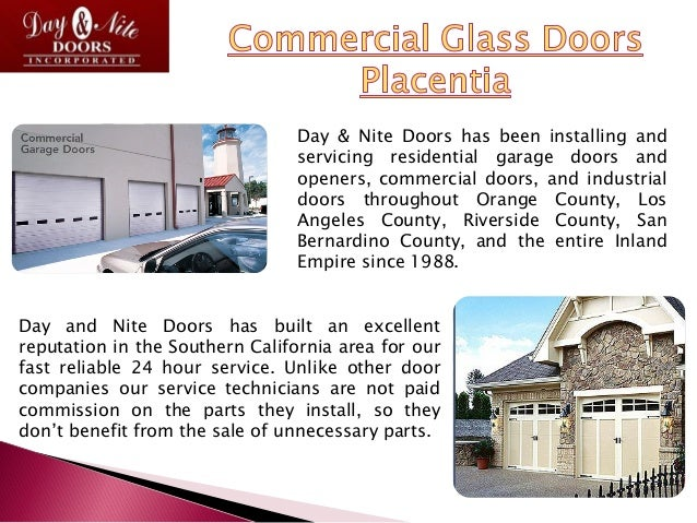Day & Nite Doors has been installing and servicing residential garage doors and openers, commercial doors, and industrial ...