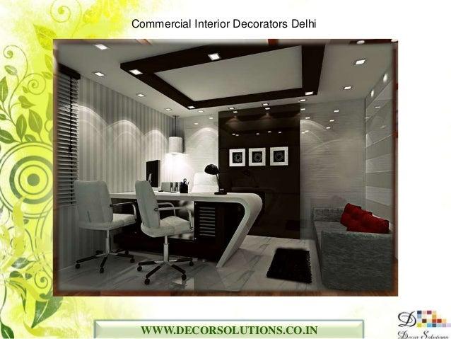 commercial interior decorators in delhi ncr