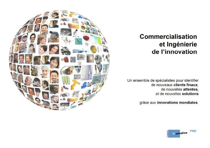Commercialisation et ingénierie de l'innovation pour les PME